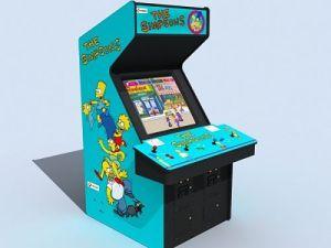 Simpsons-Arcade-Machine